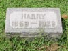 MARSHALL, James Harrison. Harry's headstone is incorrect should read 1858-1923.