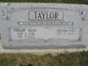 Taylor, Phillip 'Dean' & Brenda Lou, Westboro Friends Cem., Clinton Co., Ohio