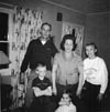 BISHER, Donald and his family in the 1950s