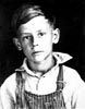 BISHER, Harold Earl as a boy