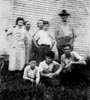 BISHER, Harold Earl with unidentified Bisher relatives during the 1930s