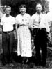 BISHER, Lee with Lundy's wife, Mary, and Ned Bisher